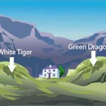 Green Dragon White Tiger
